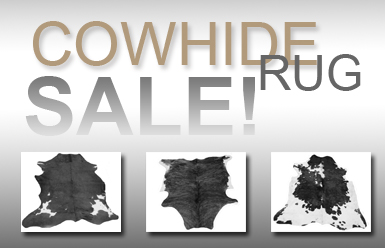 Cowhide Rug Sale Now On