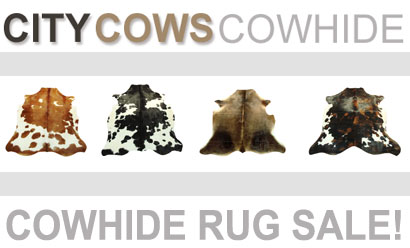 Over 150 Cowhide Rugs Now On Sale!