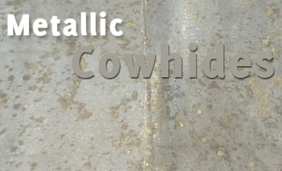 Metallic Cowhides – The Latest Home Accessory