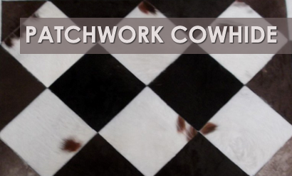 Patchwork Cowhide Rugs – Stylish & Versatile