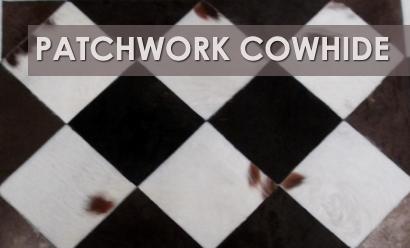 Patchwork Cowhide Rugs – Stylish & Versatile
