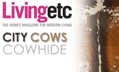 City Cows Features In Living Etc