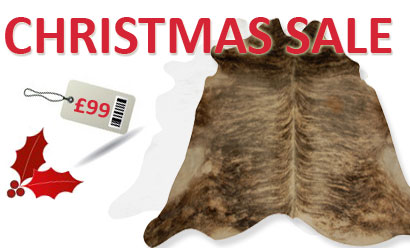 Crazy Cowhide Rug Xmas Sale – From £99!