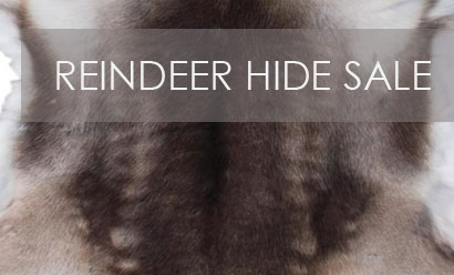 Reindeer Hides Now On Sale!