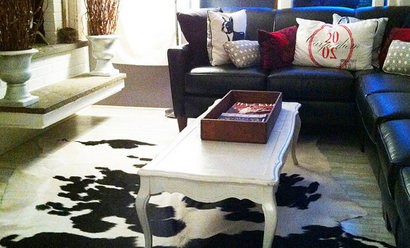 Cowhide Rugs a Beautiful New Trend