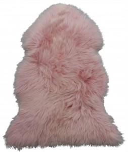 Baby Pink Sheepskin Rug
