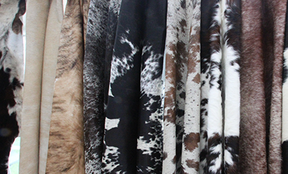 Today's Trend- Cowhide Rugs, Throws and Pillows