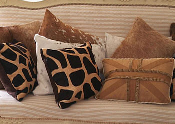Natural Cowhide Cushions