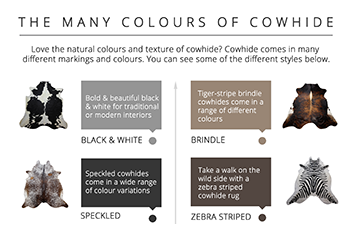 The Many Colours Of Cowhide