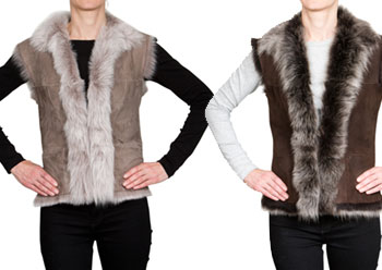 Everyday Luxury with A Shearling Gilet